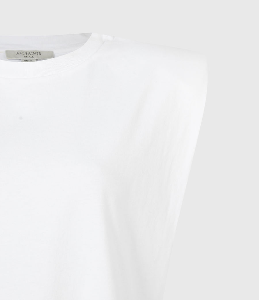 Femmes Robe en Coton Bio Coni (optic_white) - Image 5