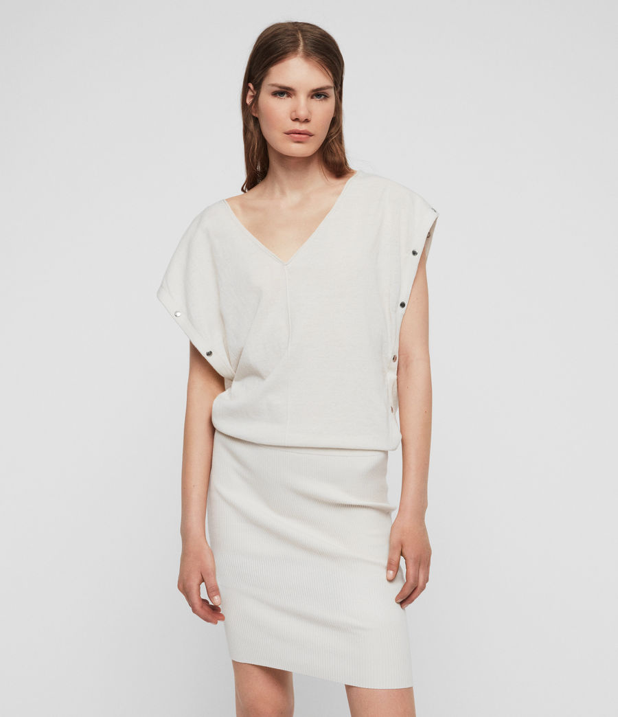 Womens Suri Dress (porcelain_white) - Image 1
