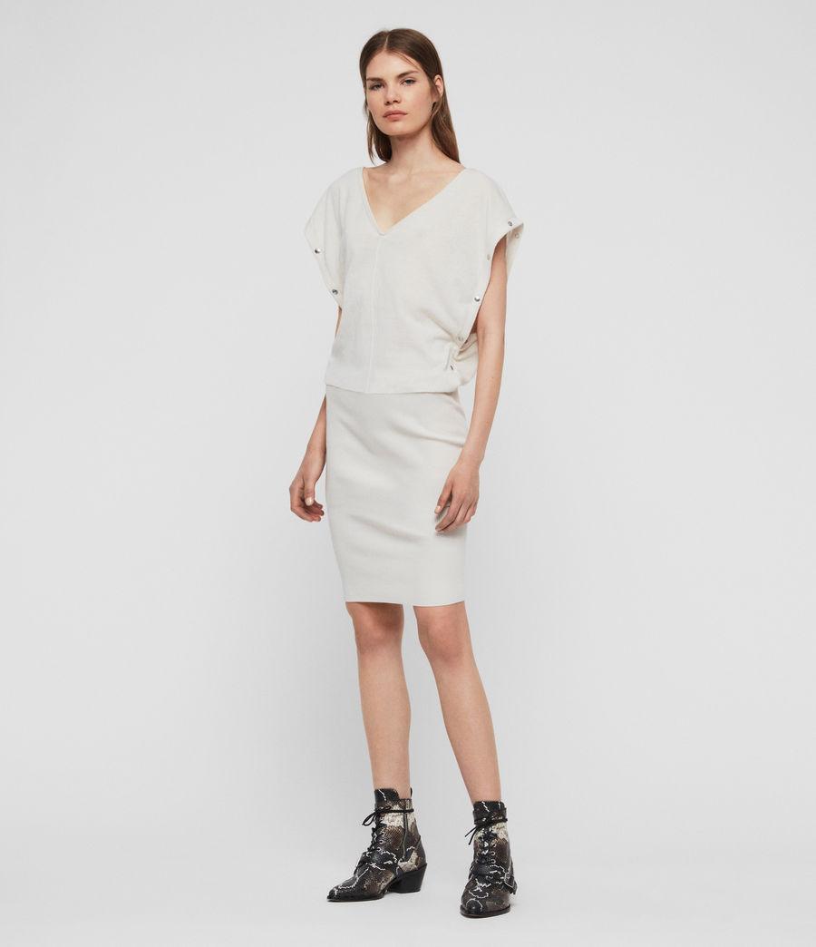 Womens Suri Dress (porcelain_white) - Image 2