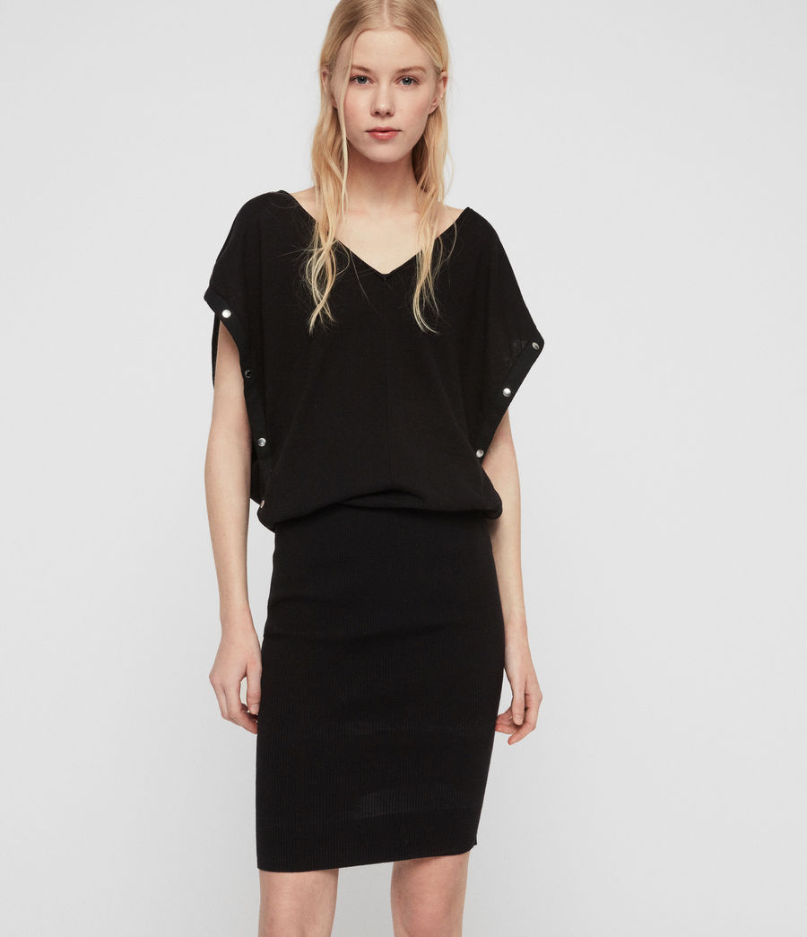 Womens Suri Dress (black) - Image 1