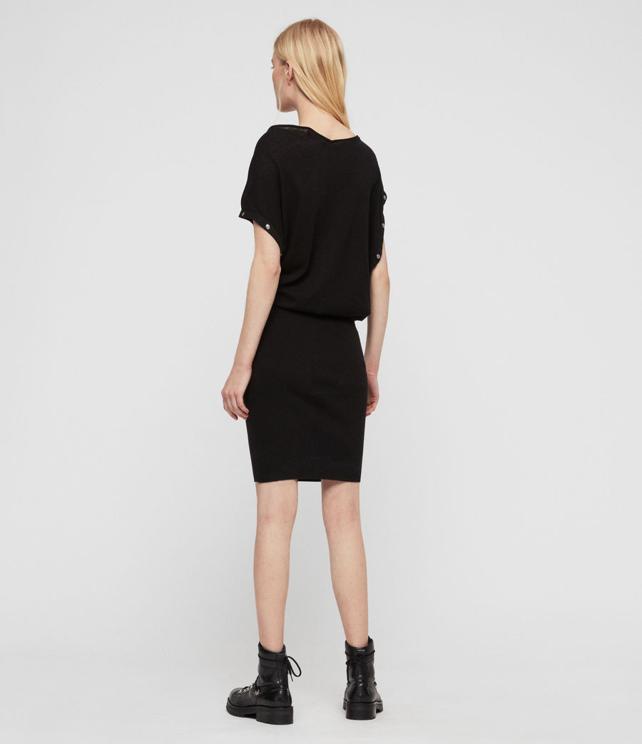 Womens Suri Dress (black) - Image 5