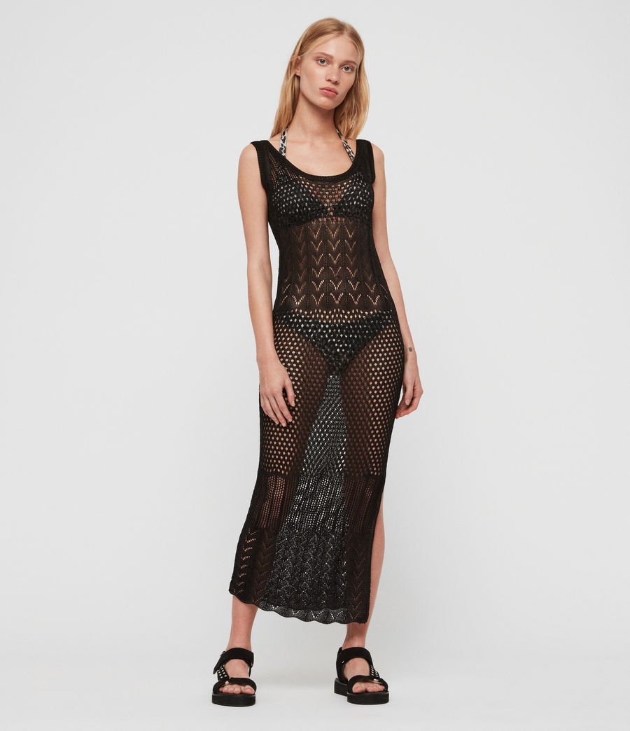 Womens Estero Dress (black) - Image 1