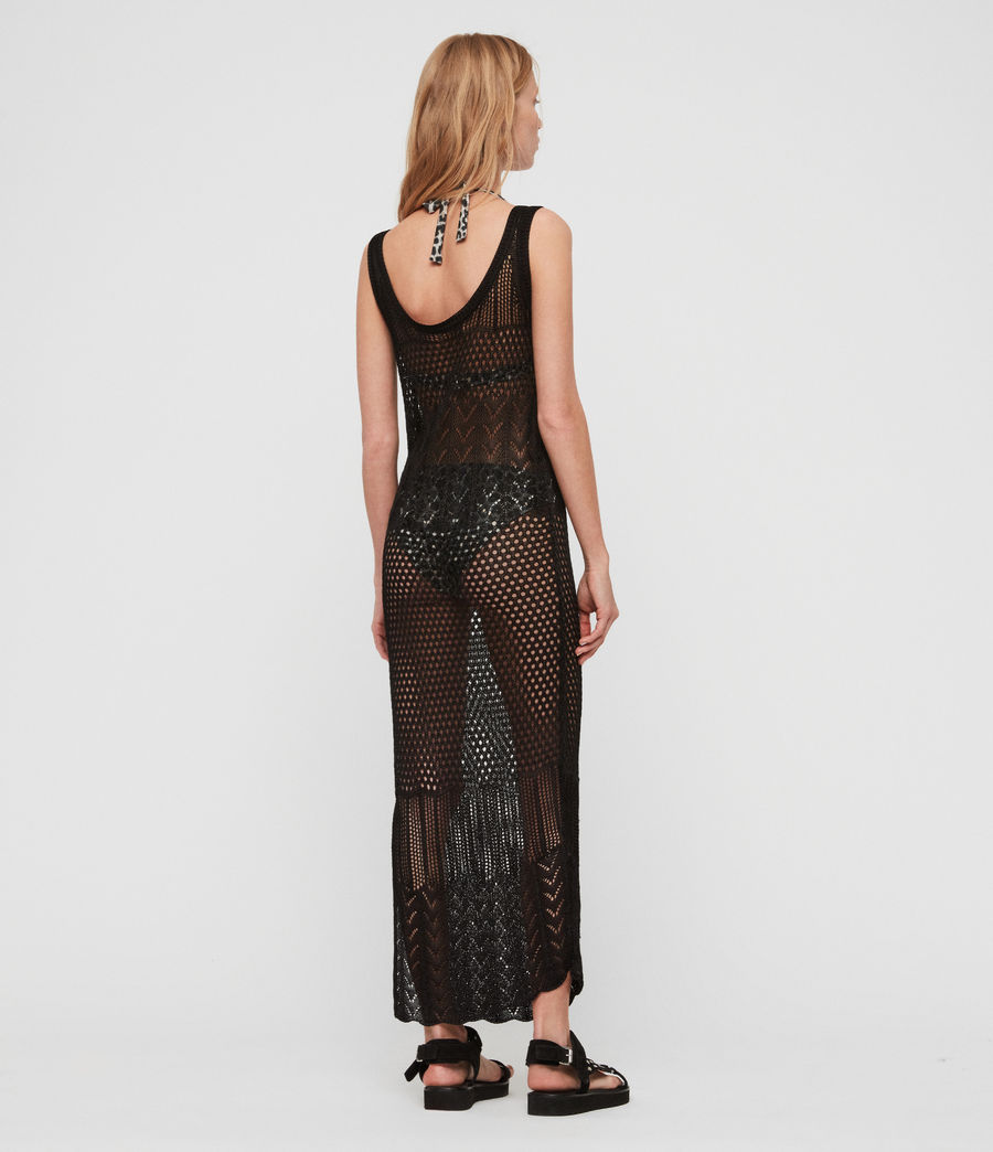 Womens Estero Dress (black) - Image 5