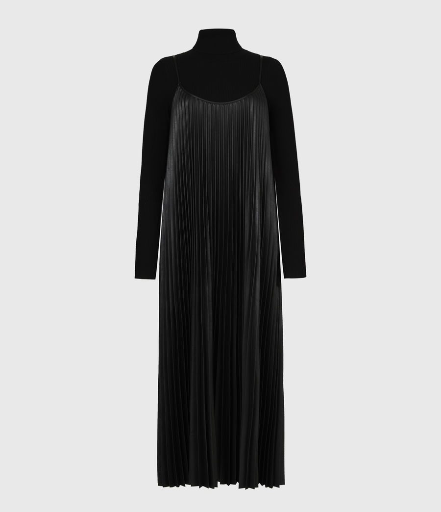 Women's Alexis 2-In-1 Dress (black) - Image 2