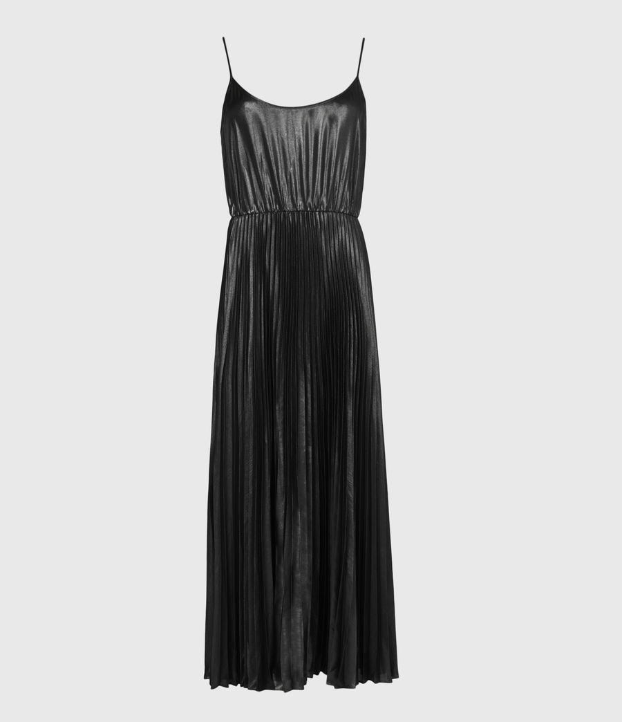 Womens Jaclyn Shine 2-In-1 Dress (silver_black_pewtr) - Image 2