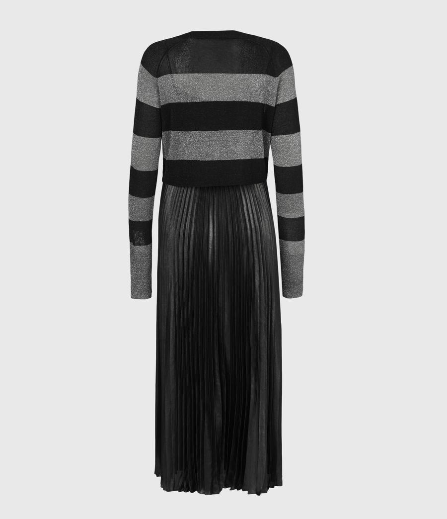 Womens Jaclyn Shine 2-In-1 Dress (silver_black_pewtr) - Image 3
