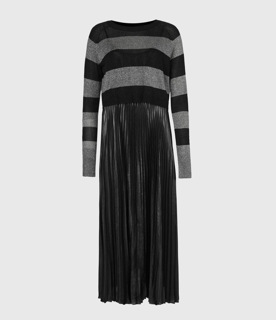 Womens Jaclyn Shine 2-In-1 Dress (silver_black_pewtr) - Image 5
