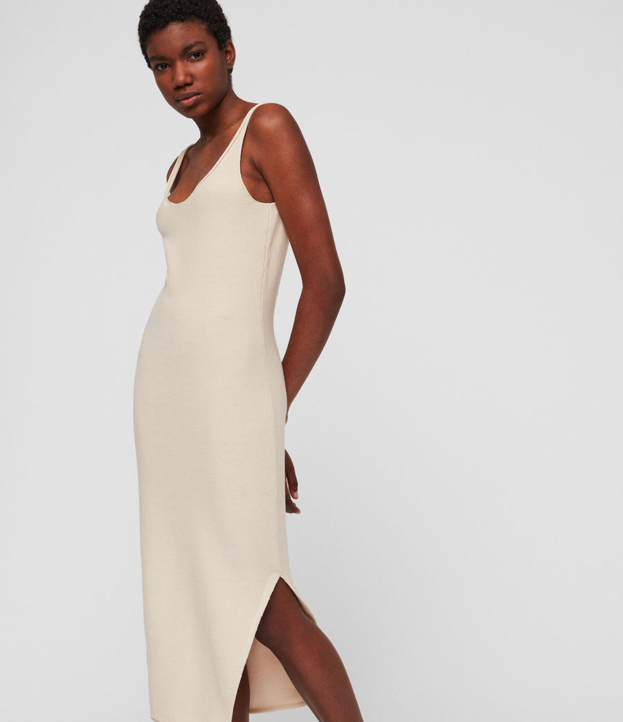 Women's Blyth Long Dress (antique_white) - Image 1
