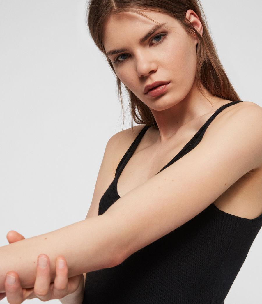 Femmes Robe Longue Blyth (black) - Image 3