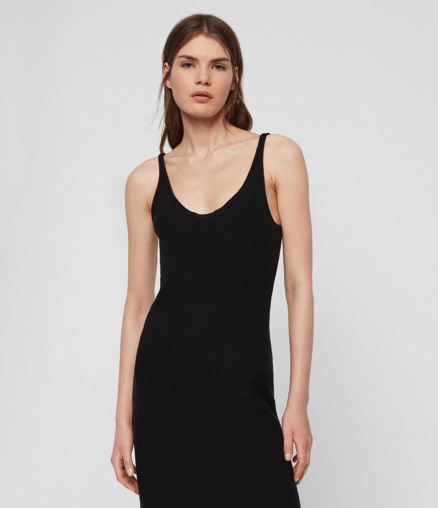 Femmes Robe Longue Blyth (black) - Image 4