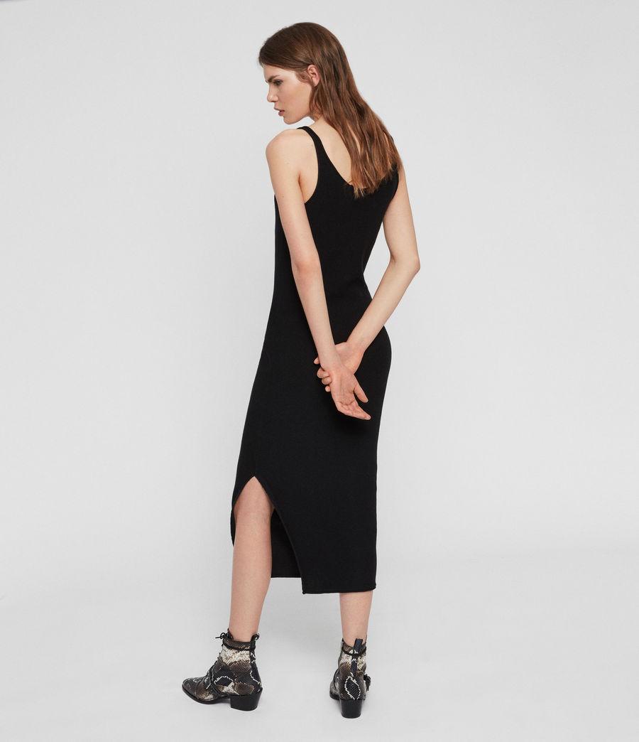 Femmes Robe Longue Blyth (black) - Image 5