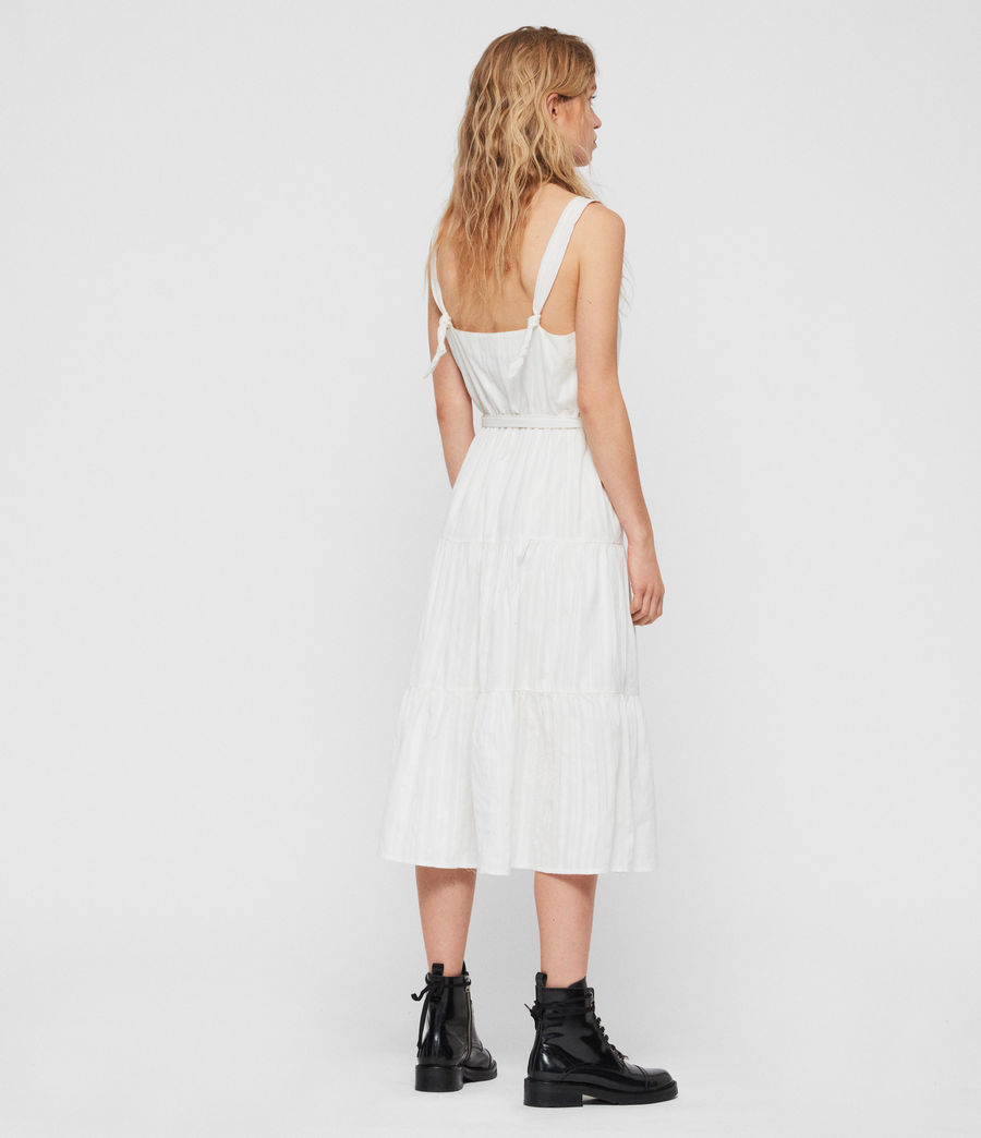 Women's Simone Adi Dress (chalk_white) - Image 4
