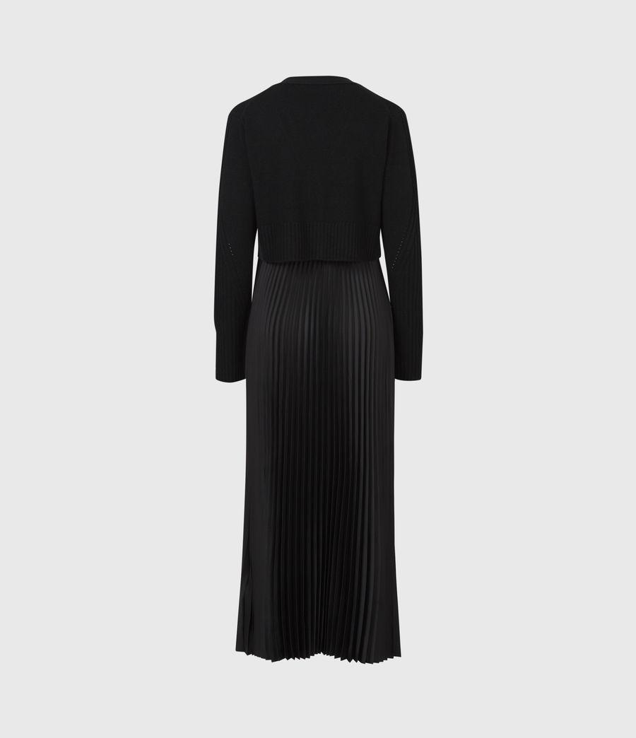Femmes Robe 2-en-1 Andrea (black_black) - Image 3