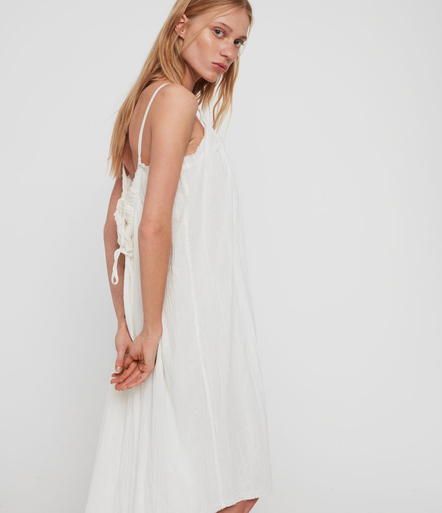 Mujer Romey Short Dress (chalk_white) - Image 1