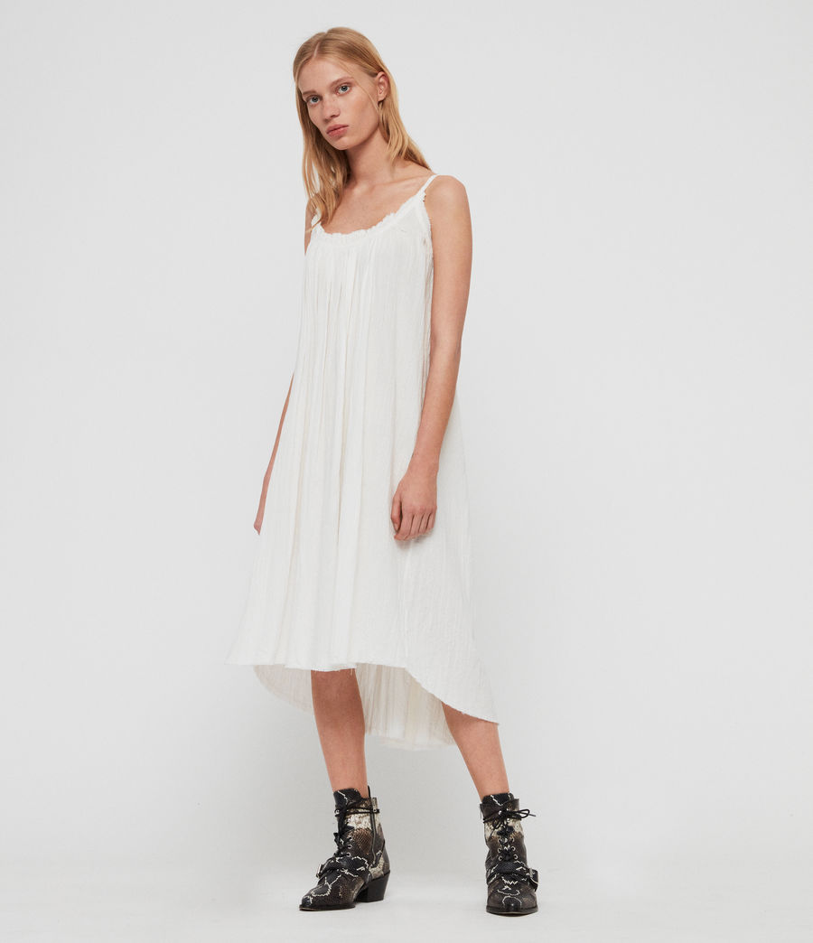 Mujer Romey Short Dress (chalk_white) - Image 2
