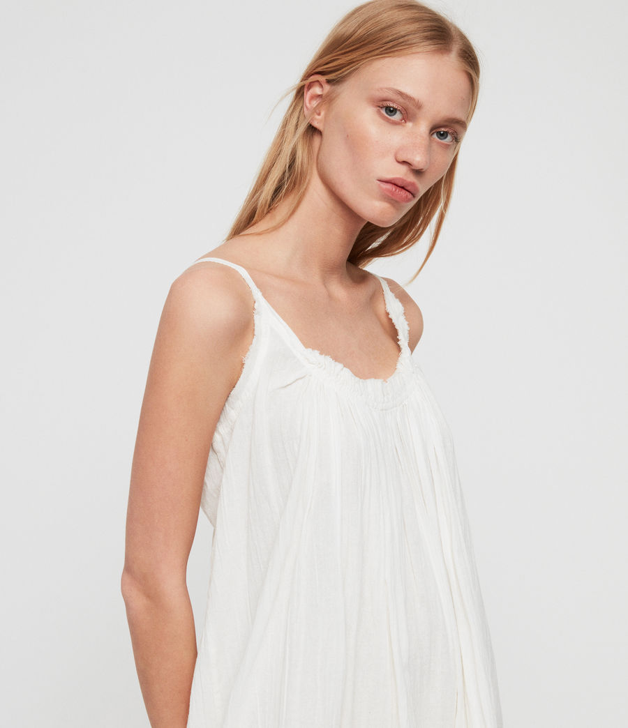 Women's Romey Short Dress (chalk_white) - Image 3