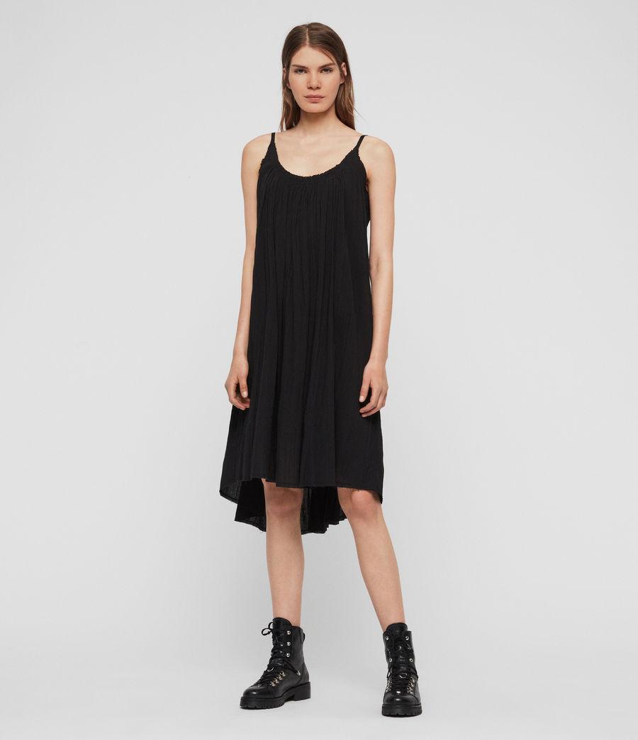 Women's Romey Short Dress (black) - Image 1