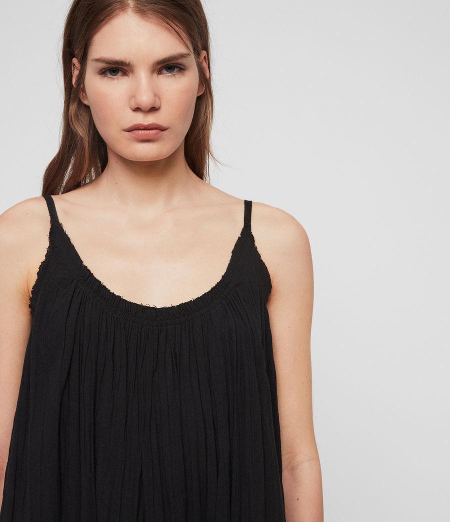 Women's Romey Short Dress (black) - Image 3
