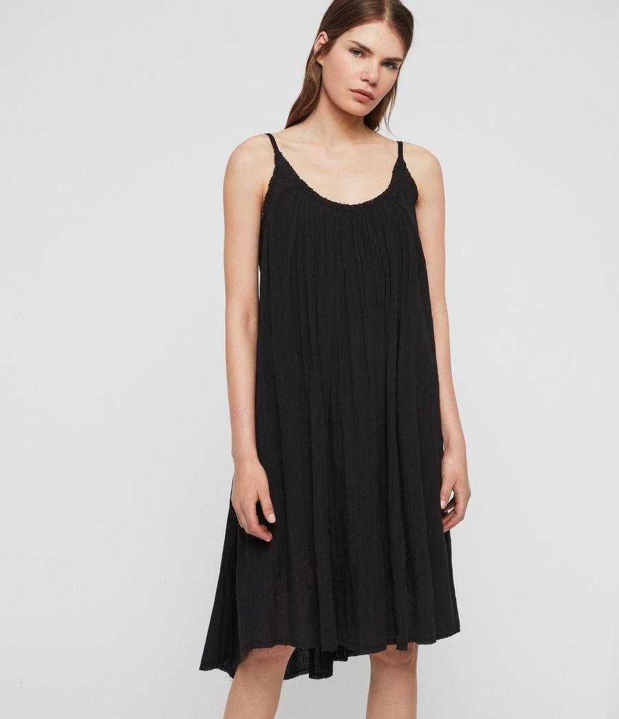 Women's Romey Short Dress (black) - Image 4