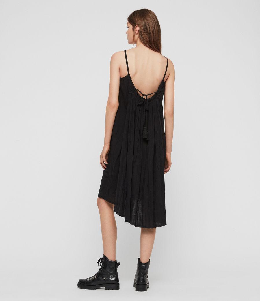 Women's Romey Short Dress (black) - Image 5
