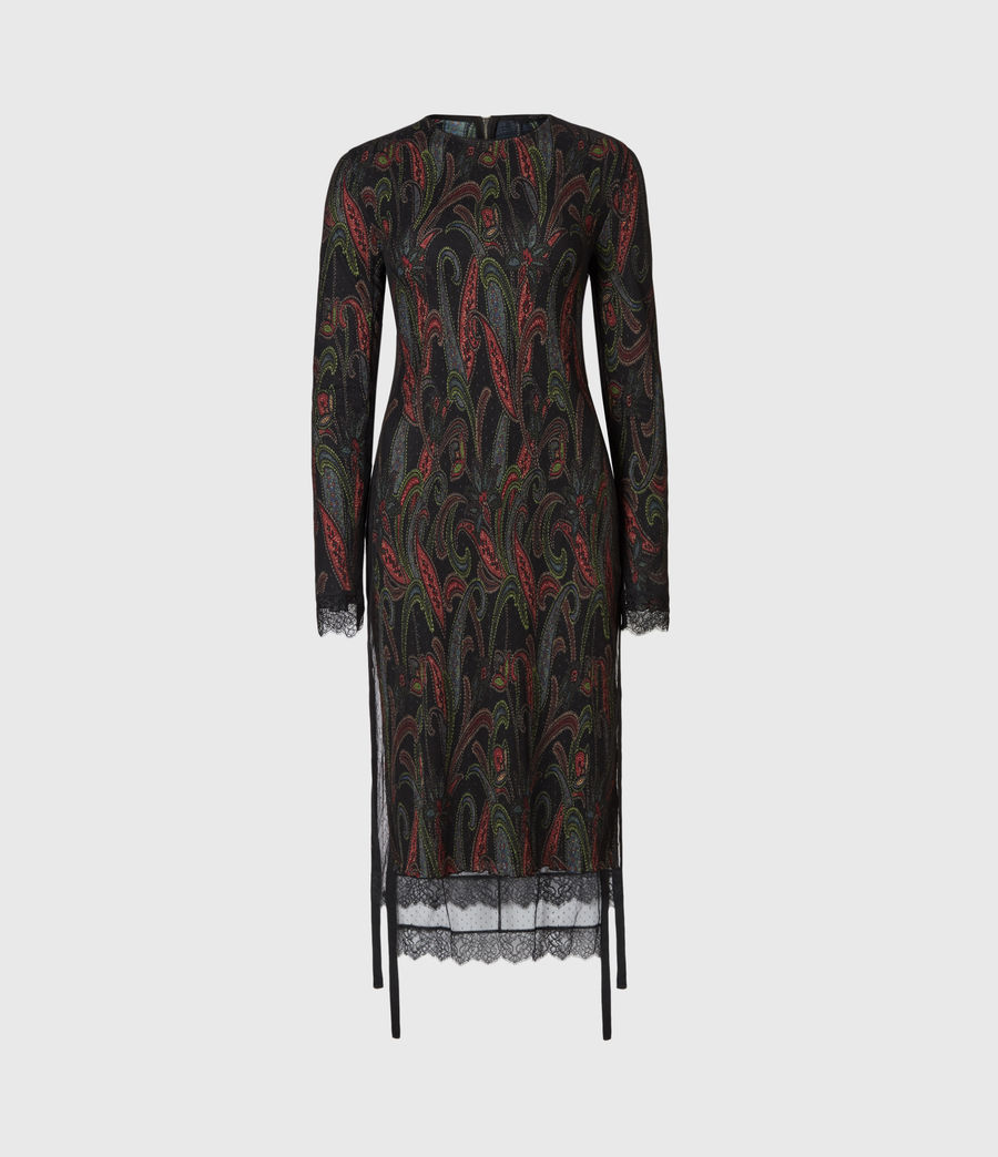 Women's Kiara Ossia Dress (black) - Image 2