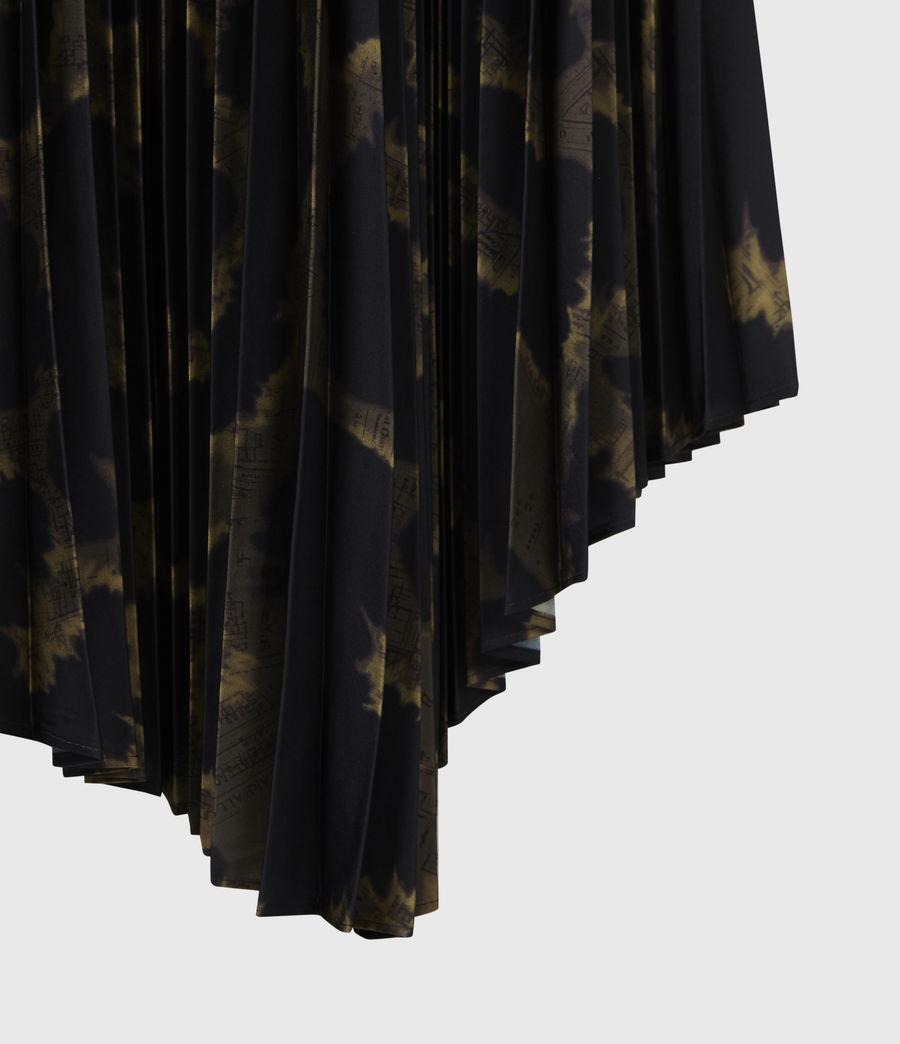 Womens Cynthya Tabula 2-In-1 Dress (black_khaki_green) - Image 7
