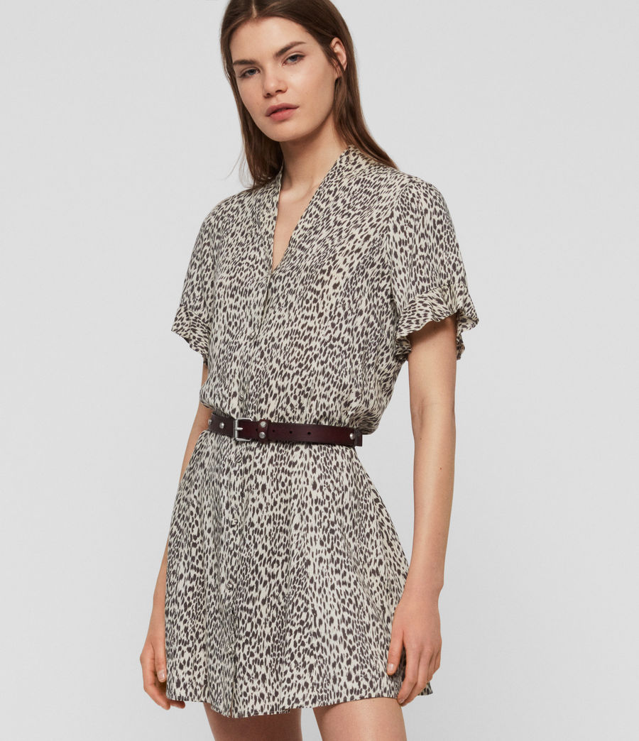 Womens Fay Lep Dress (sand_brown) - Image 1