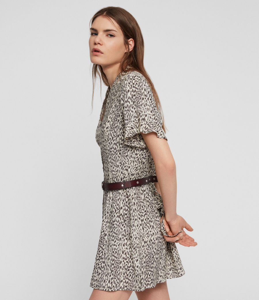 Womens Fay Lep Dress (sand_brown) - Image 2