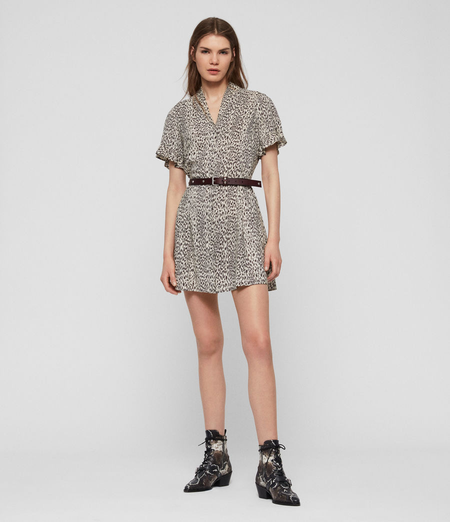 Womens Fay Lep Dress (sand_brown) - Image 3