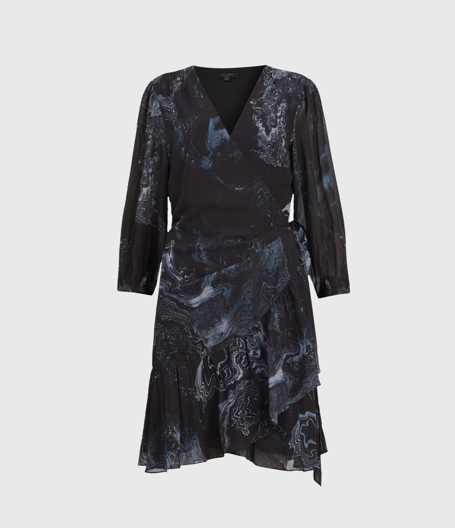 Women's Jade Hatsukoi Dress (oil_black) - Image 1
