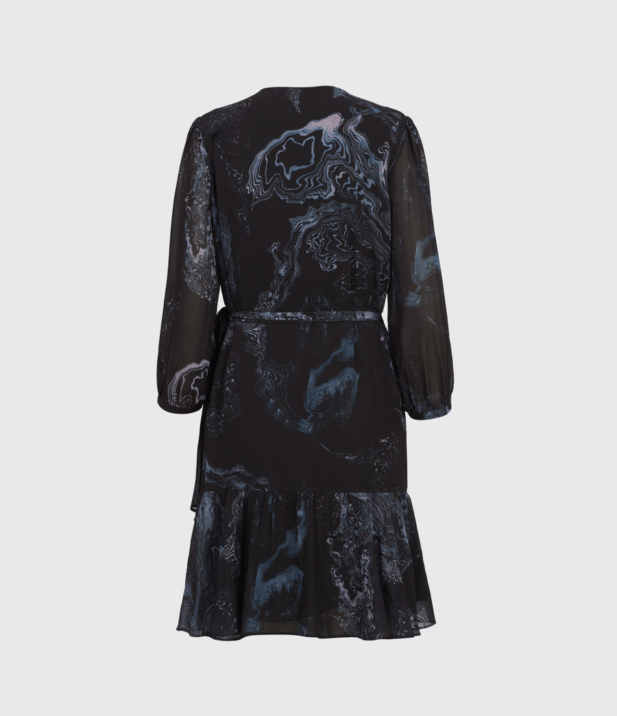 Women's Jade Hatsukoi Dress (oil_black) - Image 2