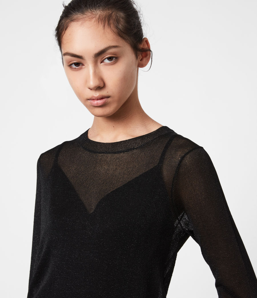 Women's Kelsie Peace 2-In-1 Dress (black_khaki_green) - Image 4