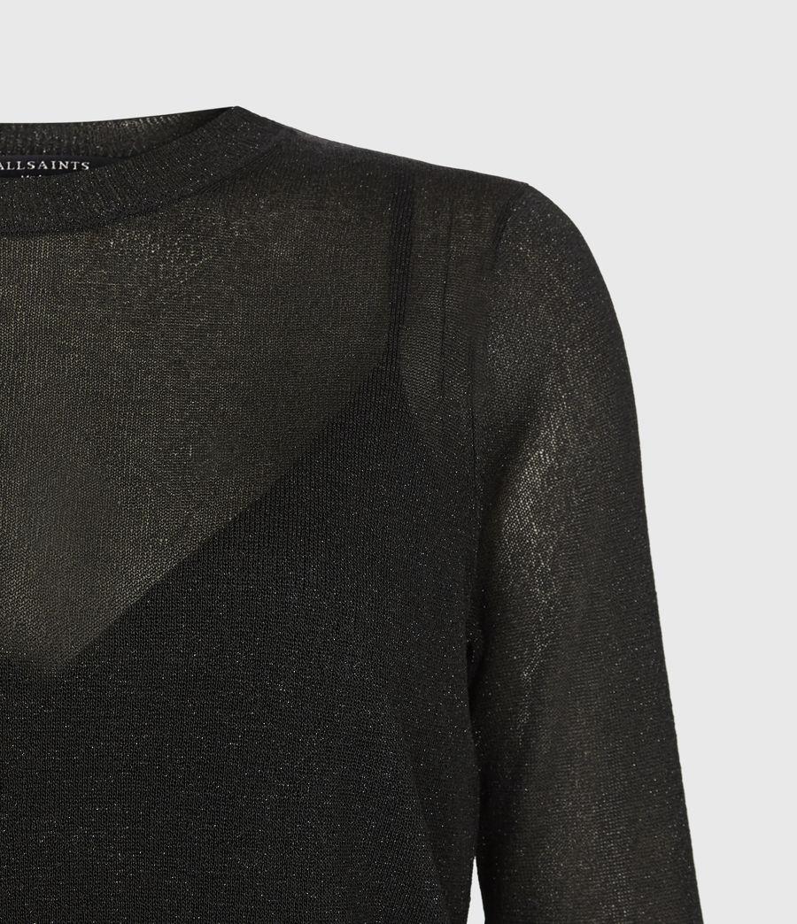 Women's Kelsie Peace 2-In-1 Dress (black_khaki_green) - Image 7