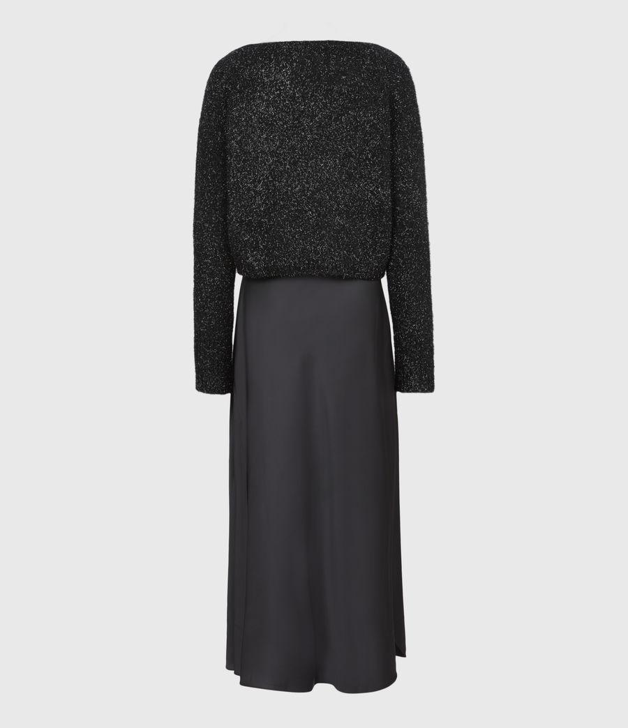 Womens Rosetta Tinsel 2-In-1 Dress (black) - Image 3