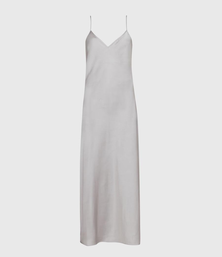Womens Rosetta Tinsel 2-In-1 Dress (silver_pearl_grey) - Image 2