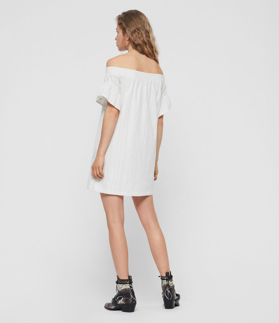 Women's Adela Adi Dress (chalk_white) - Image 4