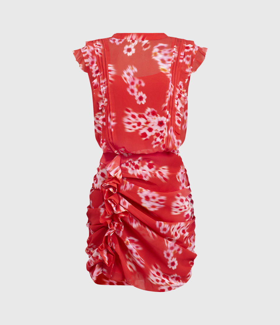 Womens Hali Jasmine Dress (red) - Image 2