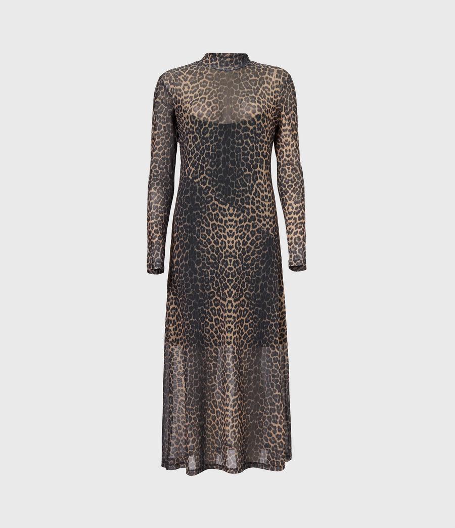 Women's Hanna Linleo Dress (taupe_brown) - Image 2