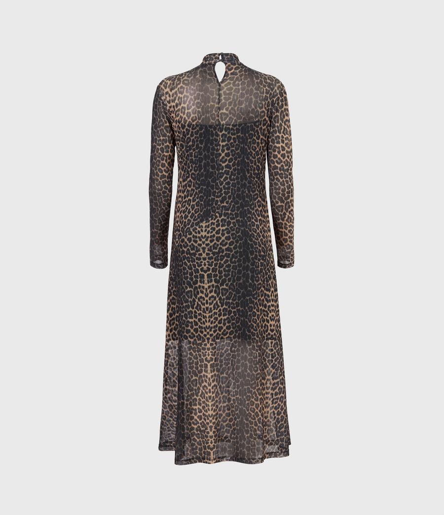 Women's Hanna Linleo Dress (taupe_brown) - Image 3