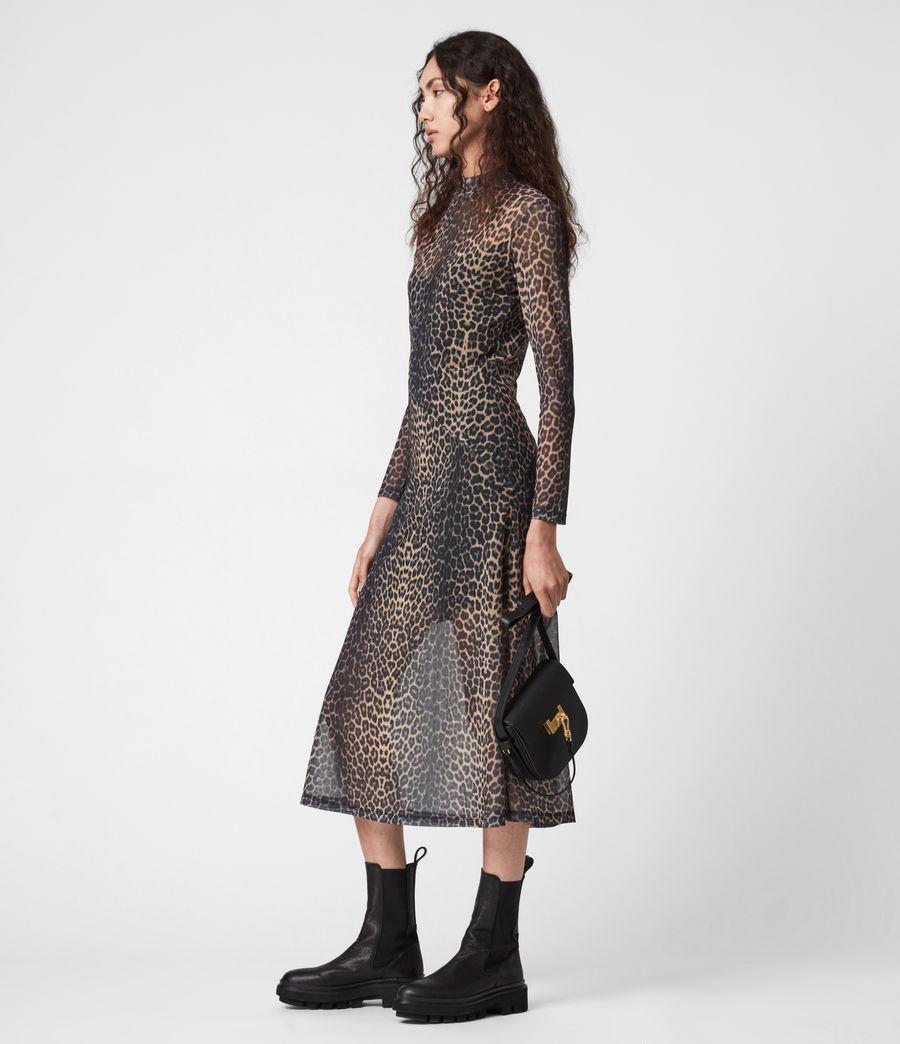 Women's Hanna Linleo Dress (taupe_brown) - Image 6