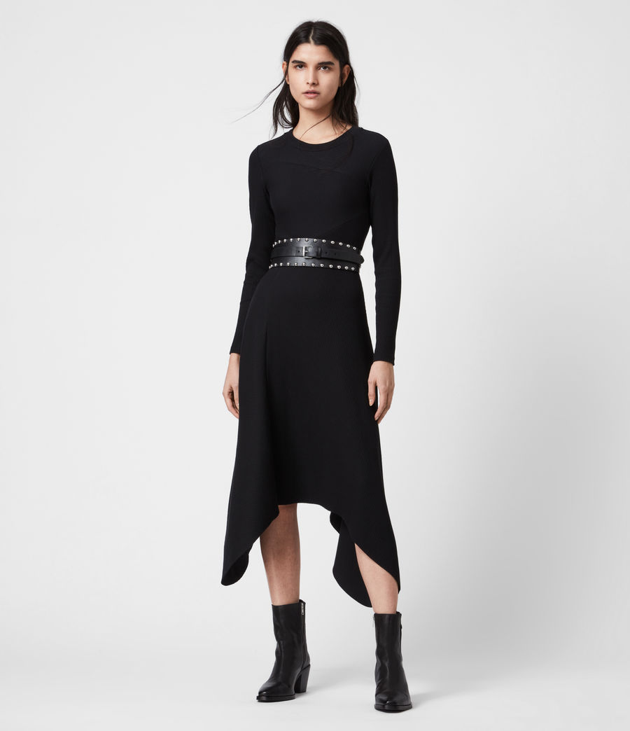 Women's Gia Dress (black) - Image 1