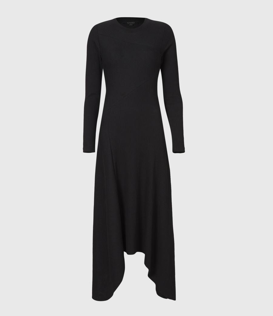 Women's Gia Dress (black) - Image 2