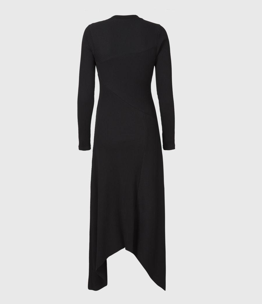 Women's Gia Dress (black) - Image 3