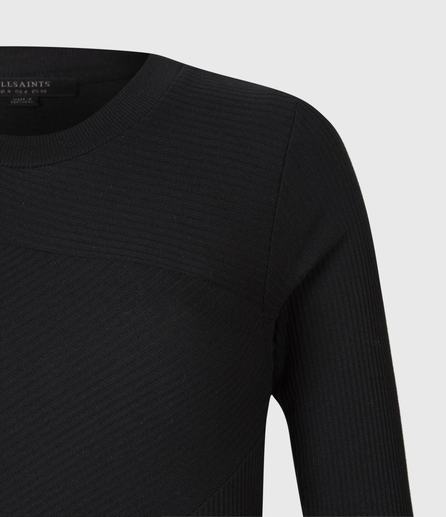 Women's Gia Dress (black) - Image 4
