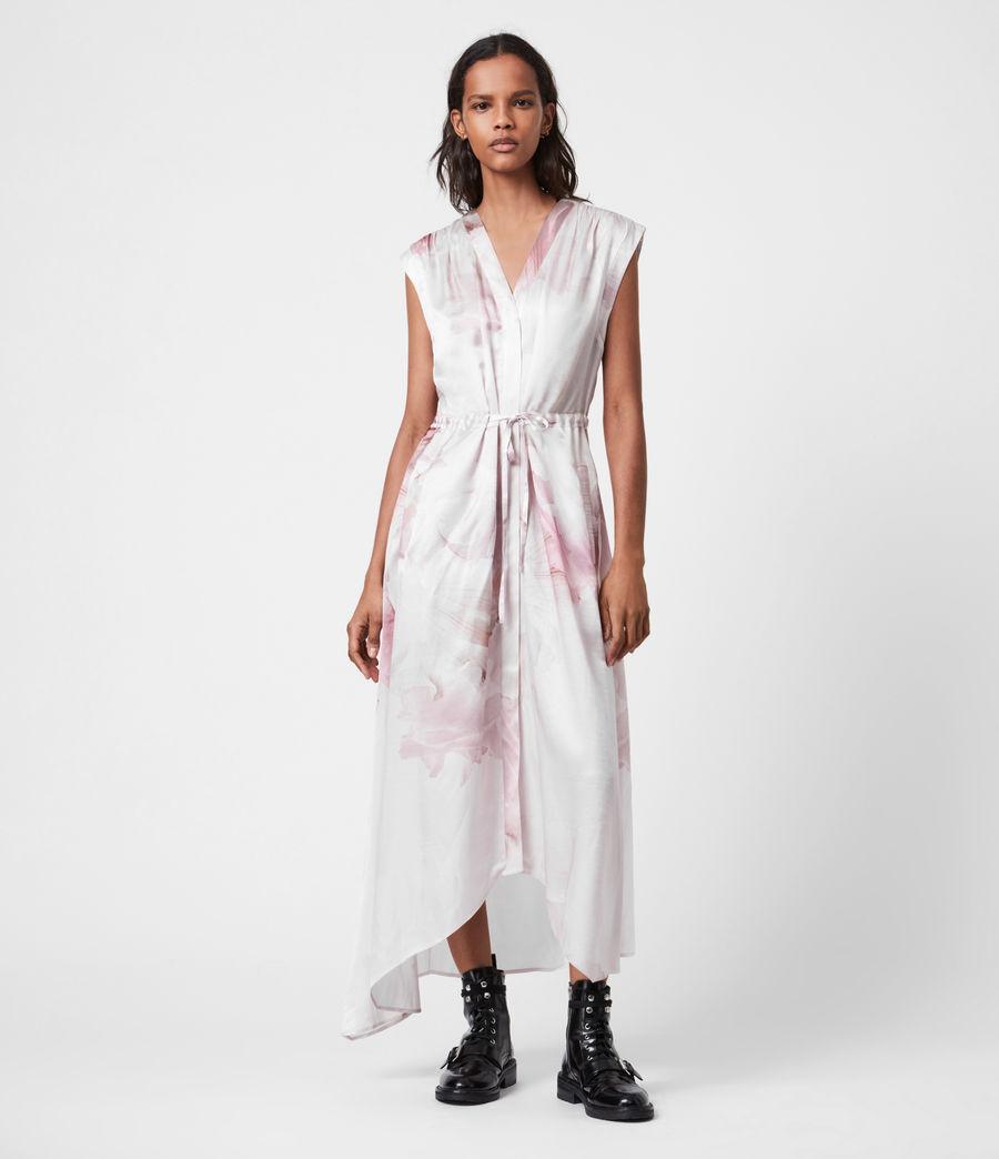 Women's Tate Nubila Dress (border_pink) - Image 1