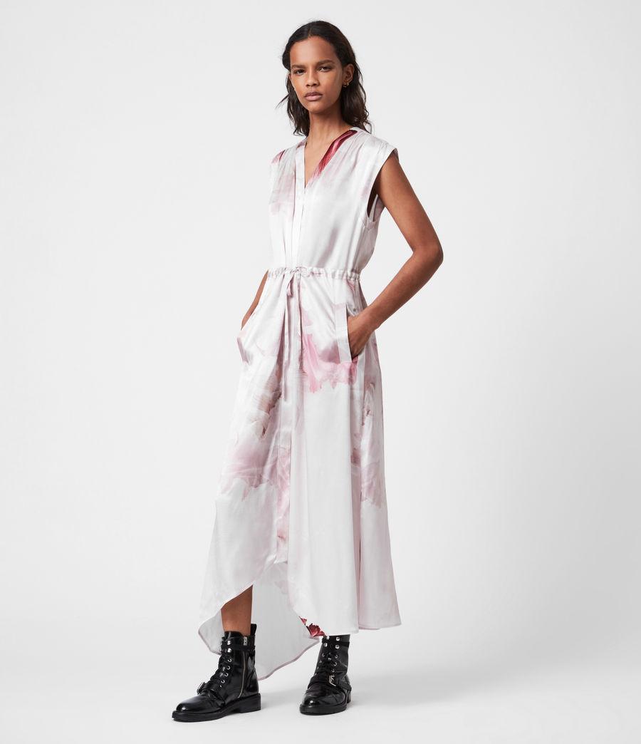 Women's Tate Nubila Dress (border_pink) - Image 4