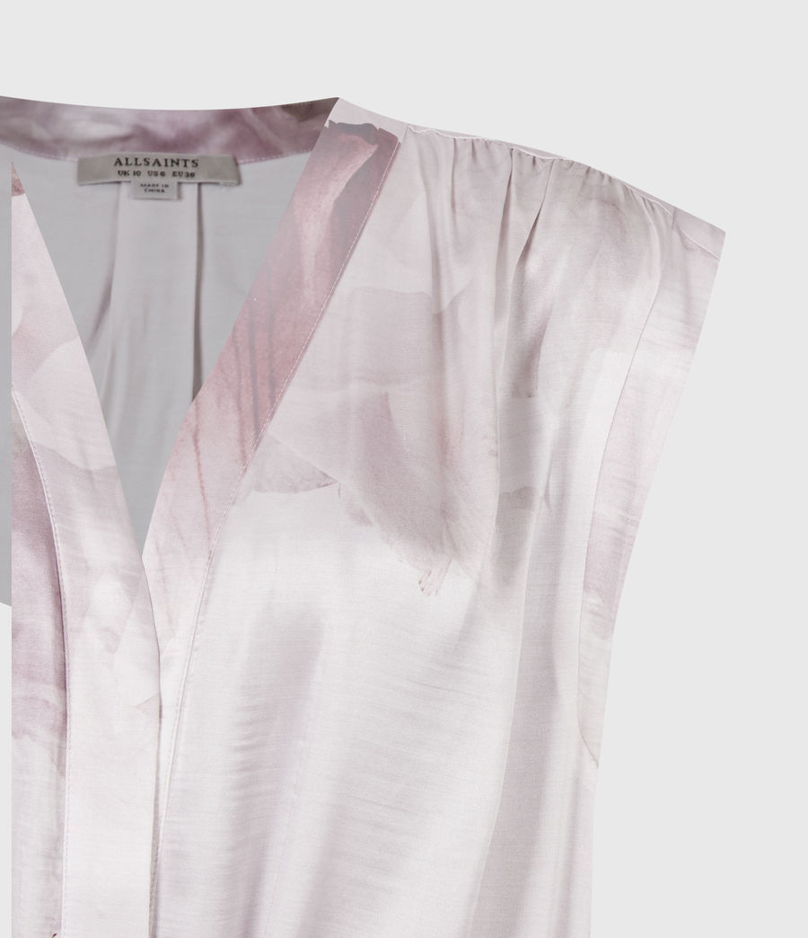 Women's Tate Nubila Dress (border_pink) - Image 5