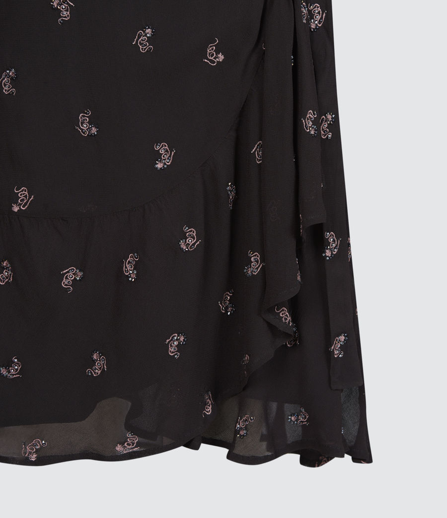 Femmes Robe Serpent Fina (black) - Image 6