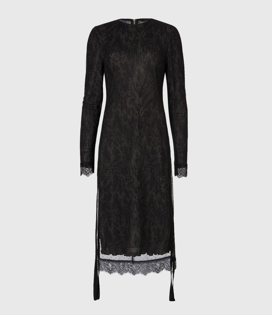 Women's Kiara Peace Dress (khaki_green) - Image 2