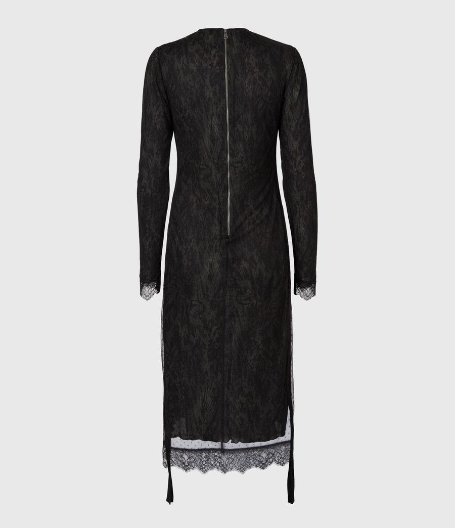 Women's Kiara Peace Dress (khaki_green) - Image 3